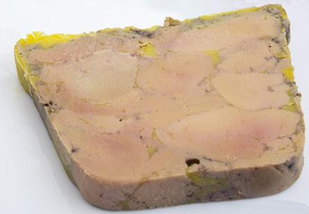 Foie gras 100% morceaux