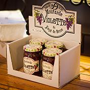 Moutardes à la violette