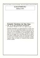Gault & Millau – édition 1991