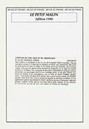 Le petit malin – édition 1990